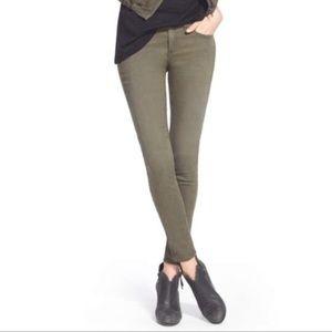 Rag & Bone Fatigue Green Skinny Legging Size 27